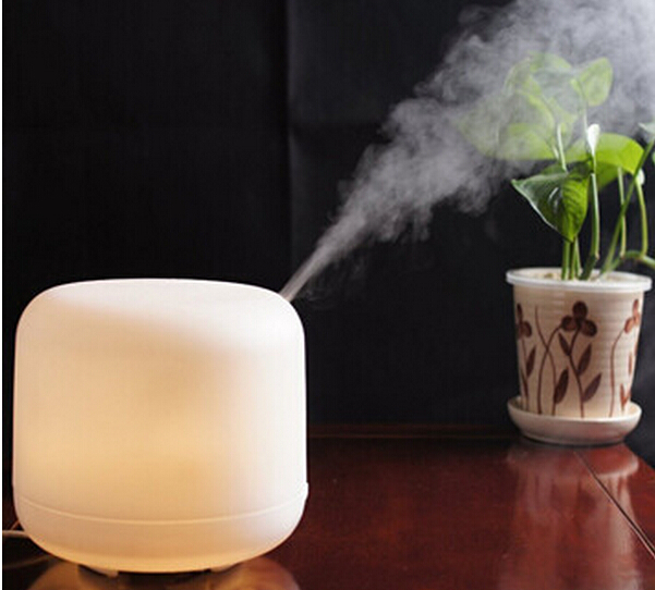 Гаджет  500ML Aroma Diffuser Atomizer Air Humidifier LED 7 Colors Changing Automaticlly and 3 Time Setting Ultrasonic Purifier None Бытовая техника