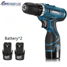 Buy 16.8V Multifunction Rechargeable Lithium Battery*2 Torque Electric Drill bit cordless Electric Screwdriver hand wrench tool set for $52.80 in AliExpress store