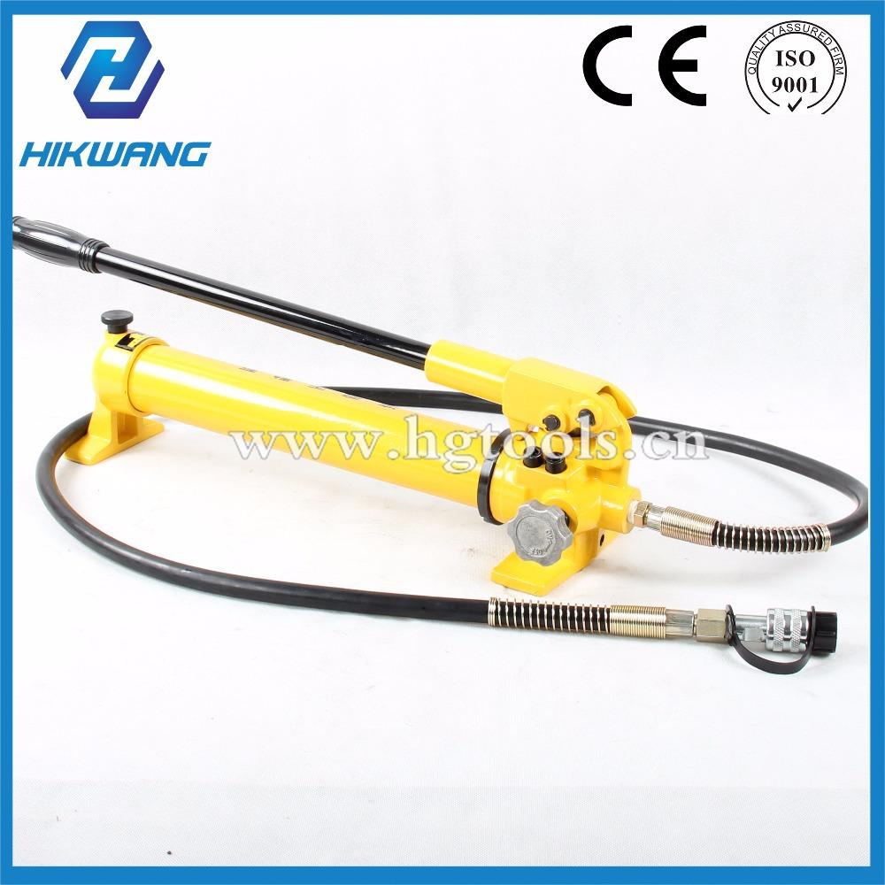 hydraulic hand pump 700bar manual pump hydraulic CP-700 spilt hydraulic crimping tools(China (Mainland))