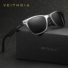 VEITHDIA Alumínio Polarized Espelho óculos de Sol Masculino Óculos de Condução dos homens Eyewears Acessórios de Pesca Ao Ar Livre Óculos De Sol Para Homens 2140