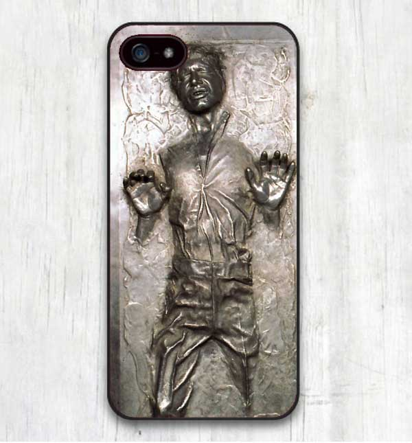 Star Wars Han Solo Frozen in Carbonite Cool Print Hard Cover for iphone SE 4 4S 5 5S 5C 6 6S 6Plus R2D2 phone coverFree shipping(China (Mainland))