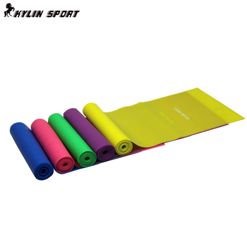 Exercise Bands Green: 1.5m Yoga Pilates Stretch Resistance Band Exercise Fitness