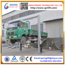 NEW floor plate 2 double column car lift machine 4 ton load duplex direct-drive grantry car lift with electric lock release(China (Mainland))