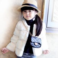 Brand New Arrival Girls Winter Coat Kids Winter Jackets New Arrival Warm Coat For Kids Cotton Cardigan Fur Coats C0337