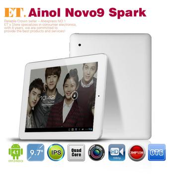Ainol NOVO9 Spark FireWire tablet pc 9.7 inch Retina A31 Quad Core 2GB 16GB Camera HDMI OTG