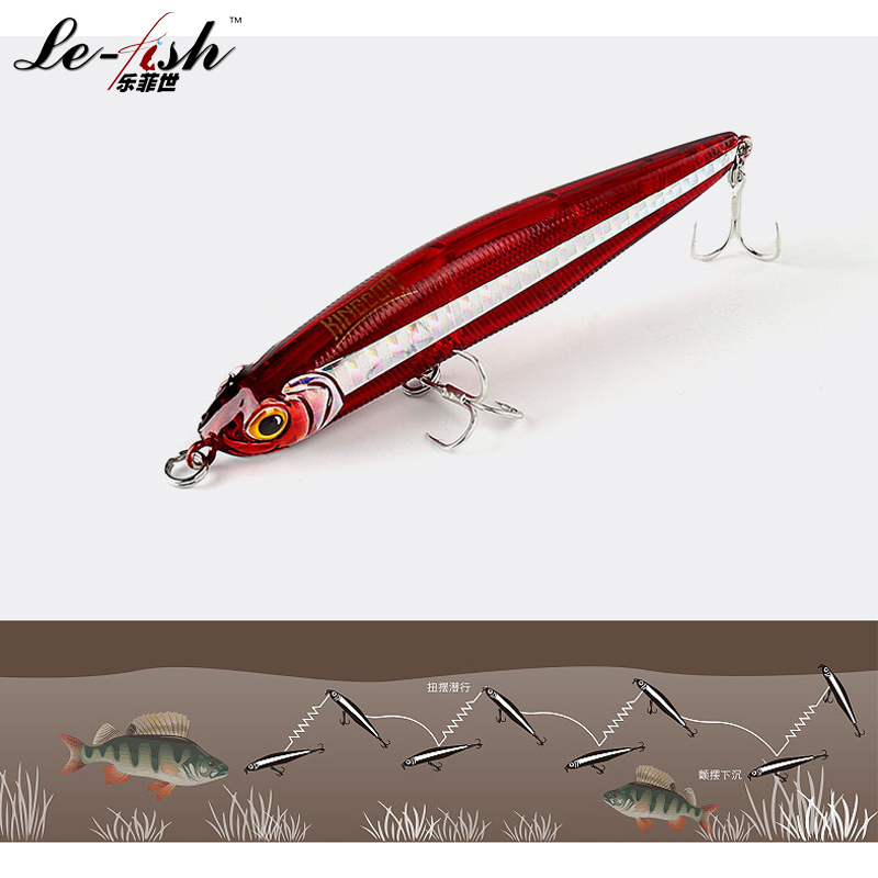 Pencil Hard Plastic Fishing Lure 85mm/19.4g 100mm/29.7g Artificial Bait Spinning Surf Cast New - China Le-Fish Outdoor Co.,Ltd Store store