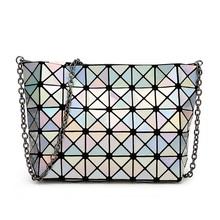 Designer Madam Chain Diamond Lattice Handbags Day Clutches Small Women Bao Bao Bag Lady Fashion Shoulder Bag Fold Bag Bolsa Sac