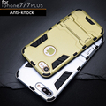 For Apple iPhone 6 6s PC Silicone Iron Man Anti Shock Armor Shield 3D Case For
