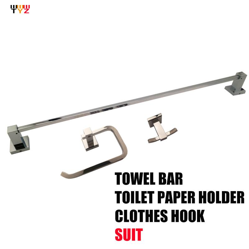 Toilet Paper Holder Banheiro Acessorio Para Em Bronze Bathroom Accessories Set Robe Hook,paper Holder,single Towel Bar 3 Pcs/set - timely zu's store
