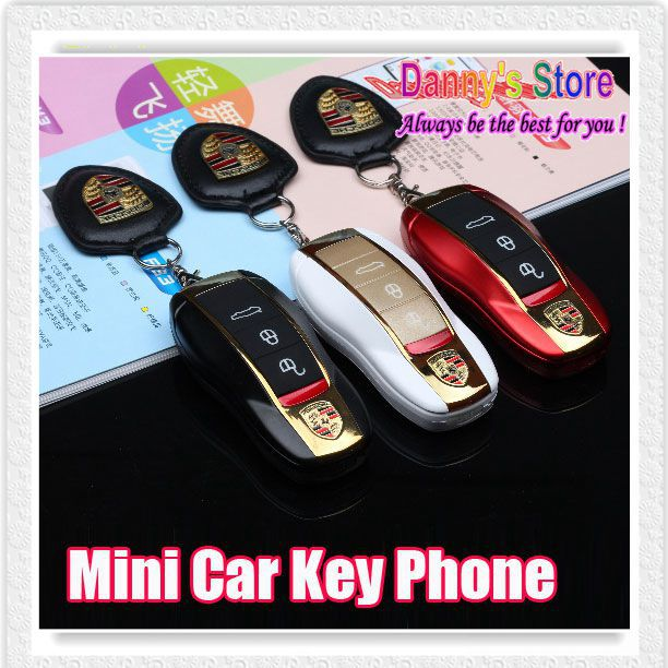 Cute Mini Car Key Cell Phone F368 Filp Mobile Phone Kids Student Cell Phone With Bluetooth FM MP3 Radio Free Shipping(China (Mainland))