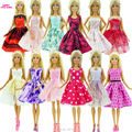 Randomly Choose 6 Set Handmade Authentic Doll's Gown Skirt Princess Garments Outfit For Barbie greatest child christmas reward Child Toy