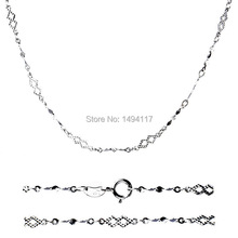 Fine 925 Sterling Silver jewelry-Fashion width 3mm chains/chokers necklace Festival gifts Clothing accessories fashion necklace (China (Mainland))