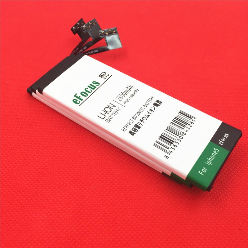 100% New Replacement Batteries Lithium Polymer Battery for Apple iPhone 5 5G