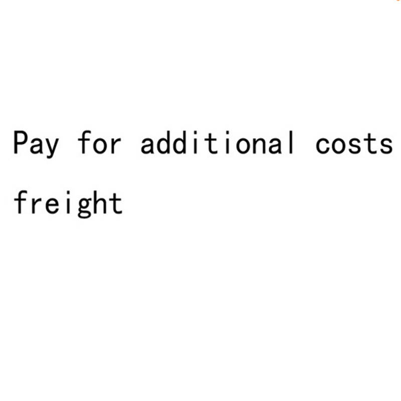 Payment for additional costs freight Not White Let Us Know Model Number or Product ID of Advertised for make shopping easy(China (Mainland))