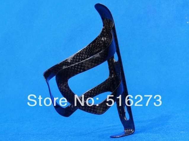 Full Carbon Glossy Road MTB Mountain TT Bike Bicycle Water Bottle Cage Included one pc cage (D4)(China (Mainland))