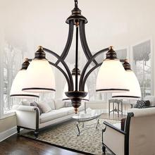American country chandelier chandelier Nordic Mediterranean living room bedroom lamps and pendant lighting for restaurants(China (Mainland))