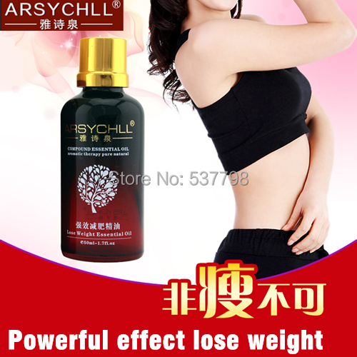 arsychll 5 bottle powerful lose weight essential oil ...