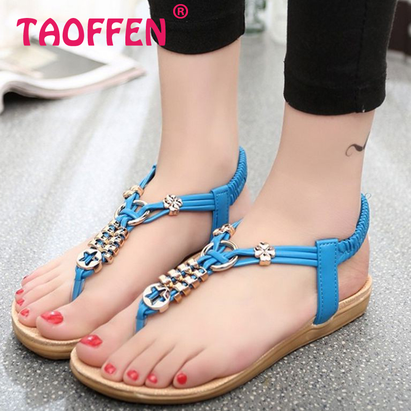 women bohemia beading girl quality ankel t-strap flat sandals brand sexy fashion ladies pinch toe footwear size 36-40 WA0068<br><br>Aliexpress