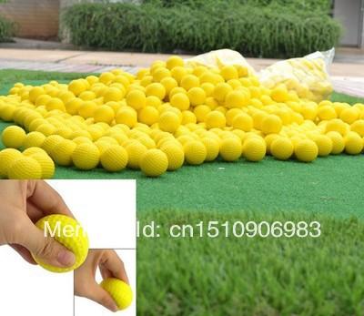10pcs PU foam golf training ball for children/Adult practice(China (Mainland))