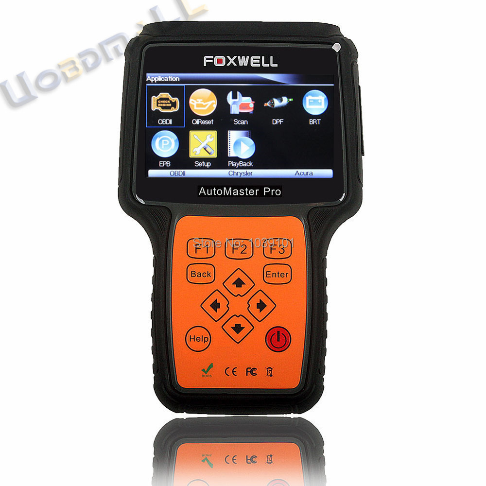100% Original Foxwell All System Scanner Tool With Oil Service Reset &amp; EPB Function NT644 All Systems DHL Free Shipping<br><br>Aliexpress