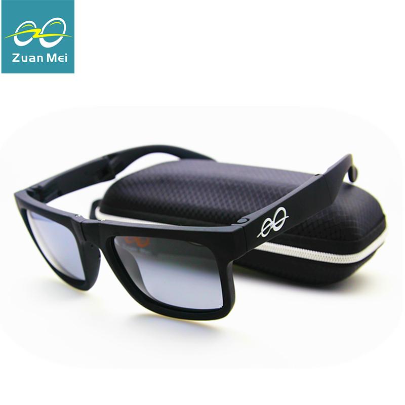Polarized Sunglasses Men Wholesale Sports Sun Glasses Wholesale Folding Glasses Can Replace The Glasses Legs Lunette De Soleil(China (Mainland))
