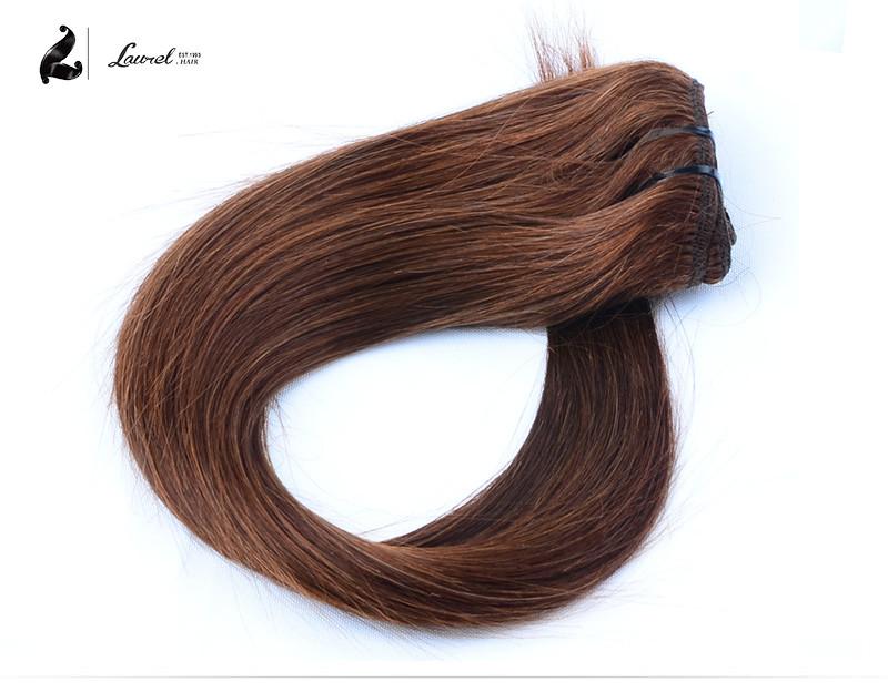 Brazilian Hair Clip In Extensions #1 #6 Brazilian Virgin Hair 100g Clip Hair Extension Natural Hair 7pcs Clip In Extensions Sale