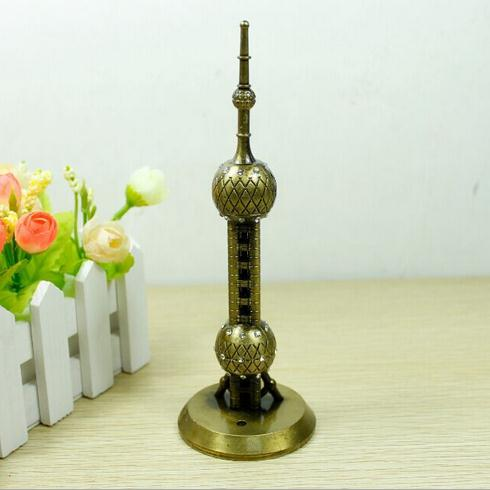 18cm Height Shanghai Television Tower for Home, Office, Shop(China (Mainland))
