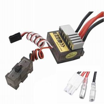 Wholesale - Free Shipping New 320A Brushed Brush Speed Controller ESC 1/8 1/10 RC Car Truck Buggy Car Boat