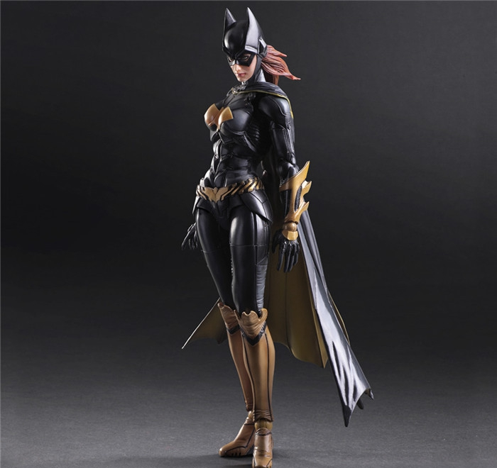 Play Arts Kai Batgirl Action Figures Dawn of Justice Bat Girl NO5PVC Toys 250mm Movie Model Arkham Knight Batgirl Playarts Kai(China (Mainland))