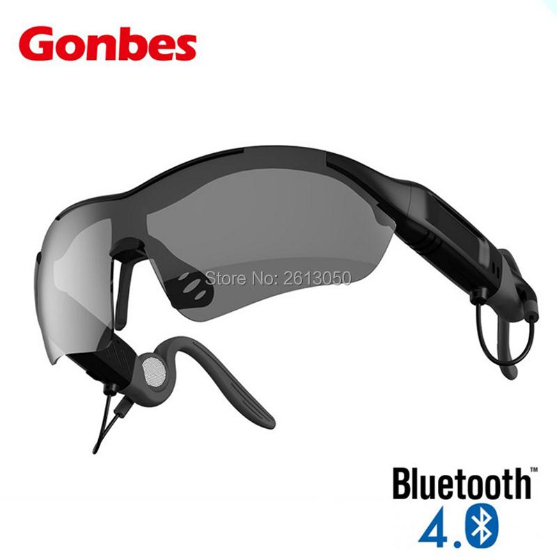Gones Bluetooth Sunglasses Smart Wireless Game Glasses Eyewear Headphone Earphone Music Play Steelseries Headset Sport Airpods(China (Mainland))
