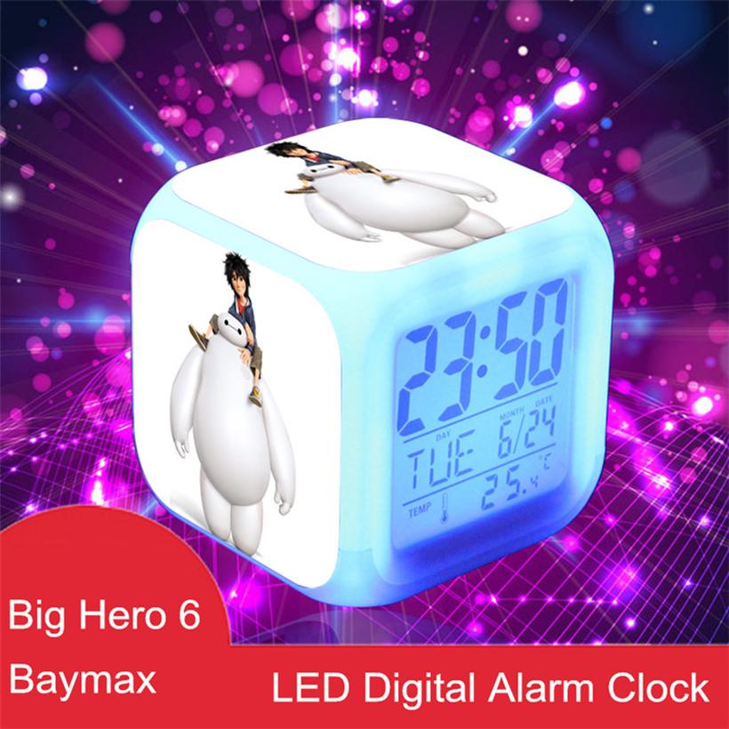 New Big Hero 6 Baymax Hiro 7 Colors Change Automatically