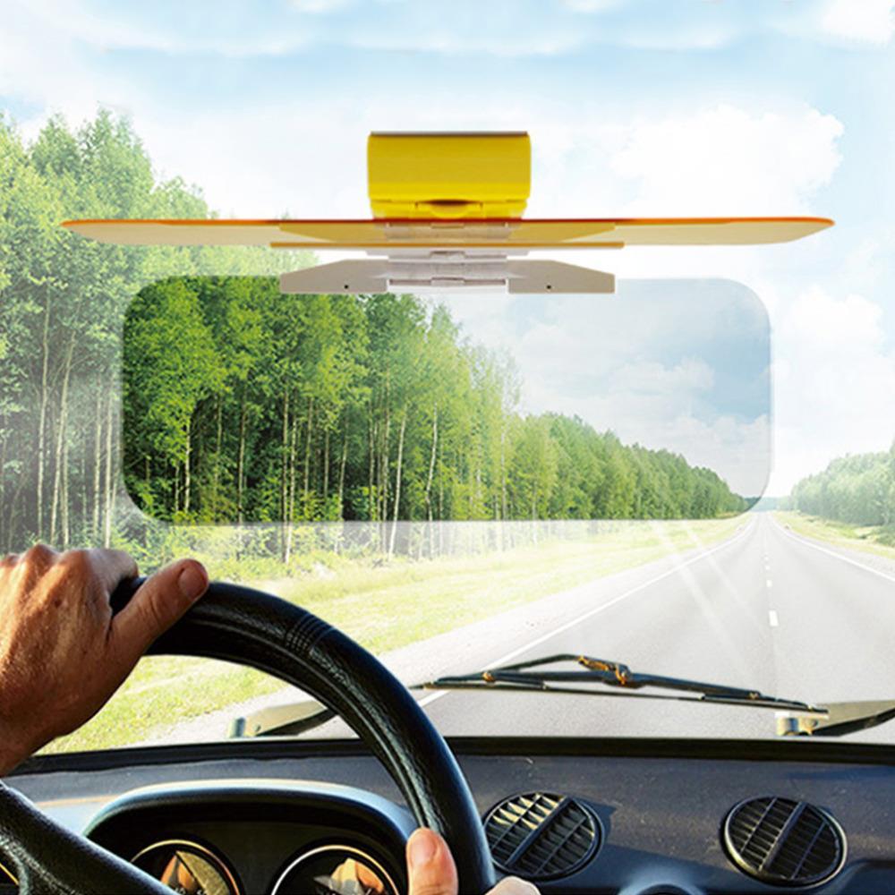 HD Car Sun Visor Goggles For Driver Day & Night Anti-dazzle Mirror Sun Visors Clear View Dazzling Goggles Interior Accessories(China (Mainland))