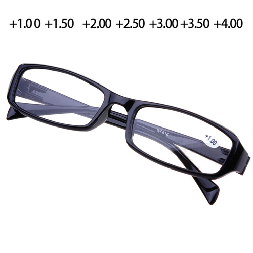 Reading Glasses Men and Women Comfy Presbyopic Glasses 1.00 To 4.00 Points To Read Colored Oculos De Grau Black & Brown(China (Mainland))