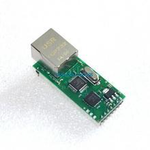2pcs/lot Serial Port Server Module Ethernet Network To RS232 TCPIP RJ45 To TTL Seckill ENC28J60(China (Mainland))
