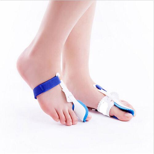 1 Pair=Big Toe Separator Corretor Straightener Bunion Hallux Valgus Corrector Night Splint Foot Pain Relief Feet Care - Click and Go LLC store