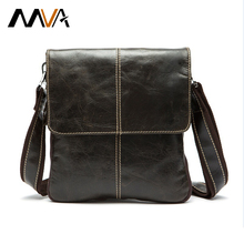 High quality genuine leather bag fashion designer crossbody bags design men bags cowhide leather small messenger bag for man