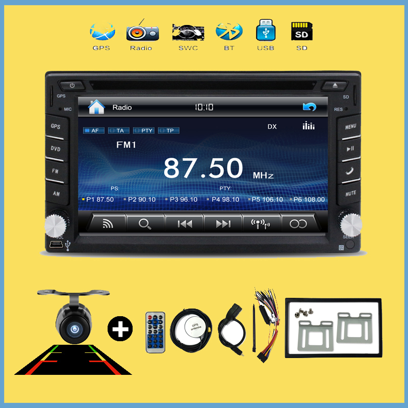 Double 2 DIN In-Dash DVD Player Windows HD Touch ScreenCar Stereo Bluetooth Auto GPS Radio Music Video Audio Head Unit For VW(China (Mainland))
