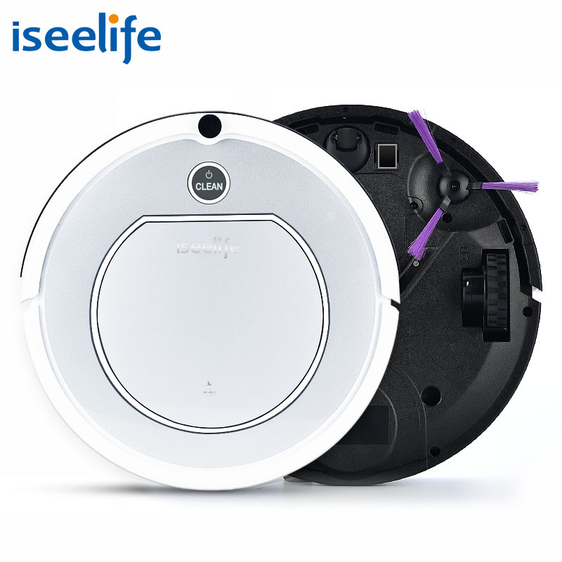 2017 ISEELIFE Intelligent Robot Vacuum Cleaner for Home PRO1 HEPA Dry Auto Charge Smart Cleaning Robotic Cleaner ROBOT ASPIRADOR(China (Mainland))