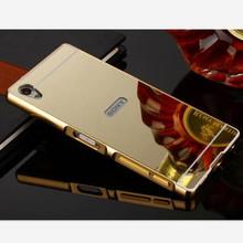 Buy Luxury Aluminum Metal Hybrid Cover Case Sony Xperia X XA XPHard Mirror Protective Back Cover Sony X XA XP phone shell for $2.98 in AliExpress store