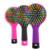 1 шт. горячая распродажа радуга громкость джейд-статический магию локон волос прямой массаж расческа инструменты для укладки с зеркалом HB88