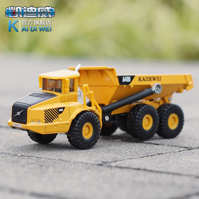 BOSINY KAIDIWEI 620007 alloy engineering vehicle model 1:87 articulated dump truck transport simulation models(China (Mainland))