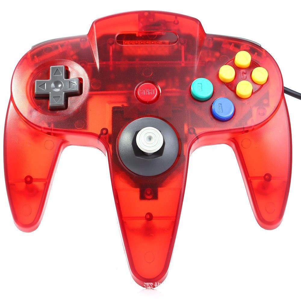 Wired Joystick Controller Gamepad For Nintendo For Gamecube N64 Controller with USB Or N64 Interface For PC Mac Controle