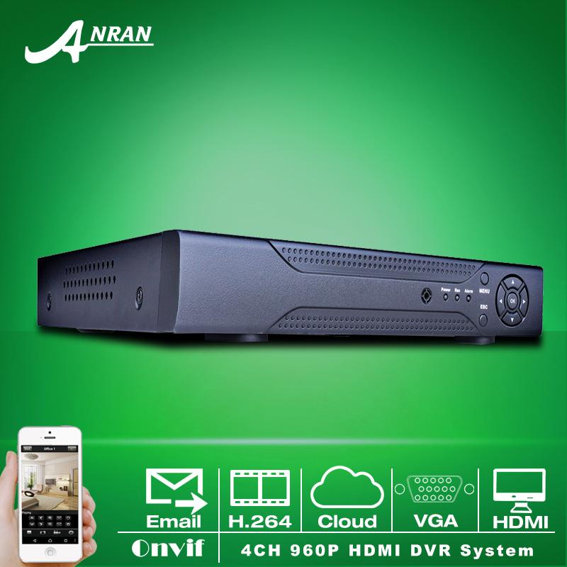 4CH DVR D1 960H HDMI Output Mobile APP PTZ VGA Video Audio Network CCTV Recorder for Surveillance Camera(China (Mainland))