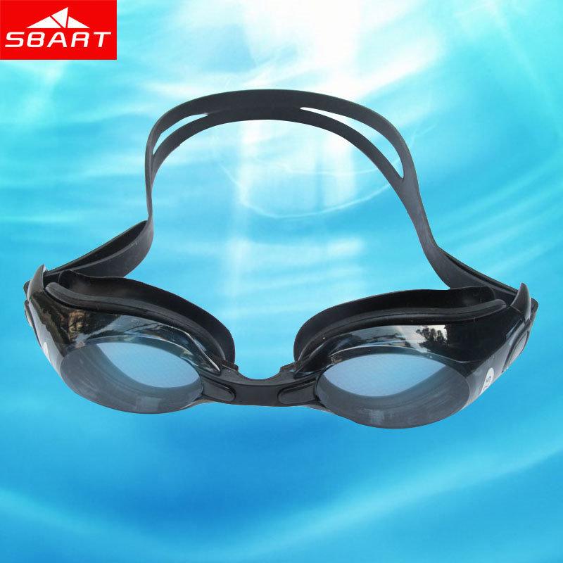 SBART Swimming Goggles Prescription Professional Women Men Adult Swim Goggles Anti Fog Anti UV Swimming Glasses L1605(China (Mainland))