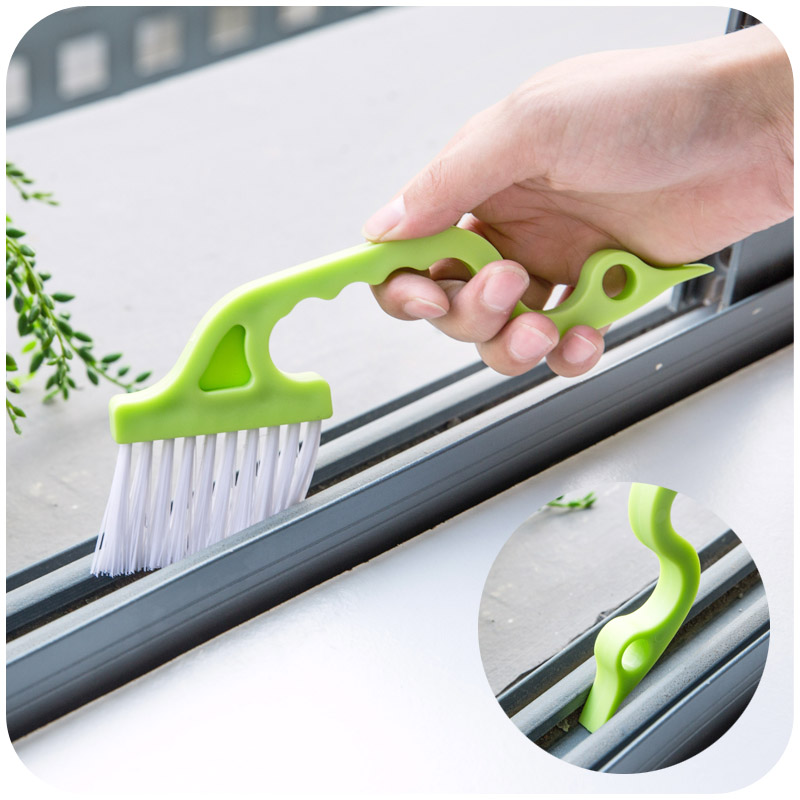 1pc Hand-held Slit Trench Doors Groove Cleaning Brush Kitchen Air Conditioning Outlet Air Louvers Brush Tube Cleaning Brush(China (Mainland))