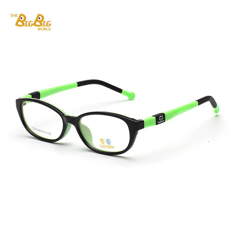 Eyeglasses Frame To Look Younger : New Brand Child Eye Glasses Frames Children Plain Mirror ...