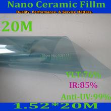 Architectural Window Solar Bronze Film 80%VLT Home Tint Residential 60″ x 65 Feet