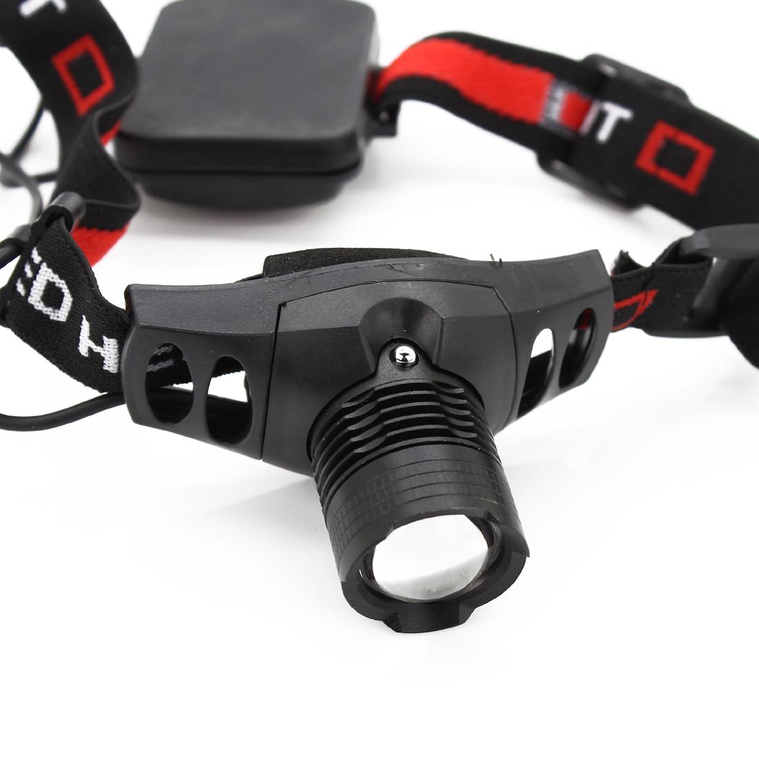 Гаджет  CREE Q5 LED 5W Zoomable Headlamp Torch Rechargeable Flashlight led Headlight Top Quality Head Light Wholesale None Свет и освещение