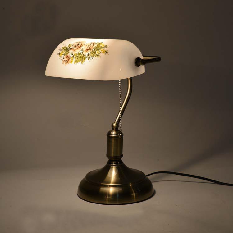 Vente en gros teint verre abat jour d 39 excellente qualit for Lampe de chevet haute
