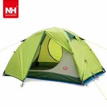 New Arrivals 205*205*120cm Double Person Waterproof Double Layer Outdoors Camping Durable Gear Picnic Tent – NatureHike